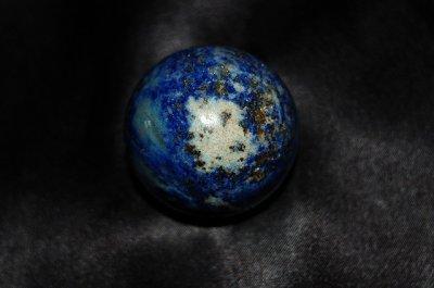 画像1: ラピスラズリ(瑠璃)丸玉