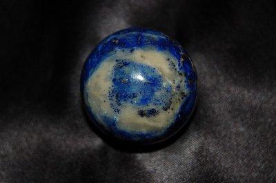 画像2: ラピスラズリ(瑠璃)丸玉