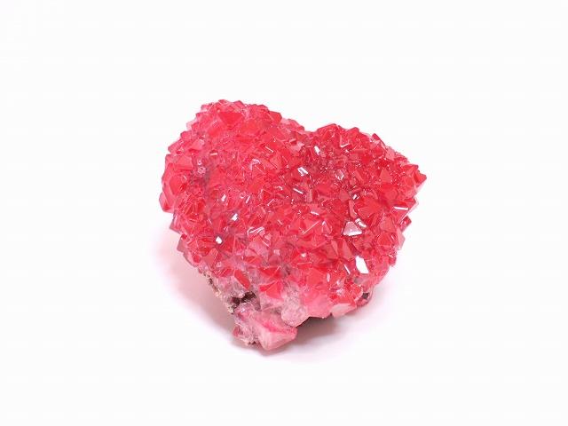 画像1: カルカンサイトクラスター 赤 人工結晶 (1)